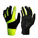 Χαμηλού Κόστους Ηλεκτρονικό Παιχνίδι-Χειμώνας Γάντια ποδηλασίας Ποδηλασία Βουνού Αναπνέει Αντιολισθητικό Anti Transpirație Προστατευτικό Ολόκληρο το Δάχτυλο Γάντια για Δραστηριότητες/ Αθλήματα Terry Cloth Μαύρο Πράσινο Κόκκινο για
