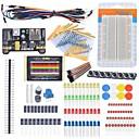 ราคาถูก ดีไอวาย เด็ก-ชุดเริ่มต้นเริ่มต้นเคเบิลชนบทต้านทานตัวเก็บประจุมิเตอร์เพื่อนำชุดการเรียนรู้ Arduino