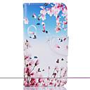 ราคาถูก ผ้าคลุมโซฟา-Case สำหรับ Samsung Galaxy J5 (2016) / J5 / J3 Wallet / Card Holder / with Stand ตัวกระเป๋าเต็ม ดอกไม้ Hard หนัง PU