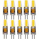 ราคาถูก หลอดไฟกลมLED-ywxlight® 10pcs g4 1505 4w 300-400lm ไฟ LED แบบสองทิศทางให้ความอบอุ่นขาวเย็นขาวธรรมชาติขาว 360 ลำแสงมุมไฟสปอตไลท์ 12-24v