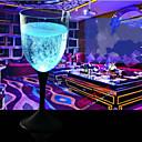 Χαμηλού Κόστους Είδη Ψησίματος-πολύχρωμο φως λάμψη φλυτζάνι φλυτζάνι 20 * 9cm