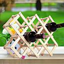 billige Vinhyller-kreativ kjøkken tre kunst vinstativ grogshop restaurant dekorasjon