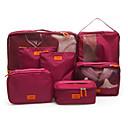ราคาถูก กระเป๋าถือและกระเป๋าเดินทาง-Travel กระเ๋าเดินทาง Packing Organizer Shoes Bag Travel Storage กันน้ำ Dust Proof ที่สามารถพับได้ ผ้า Oxford cloth