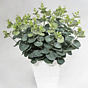 baratos Plantas Artificiais-Flores artificiais 1 Ramo Pastoril Estilo Plantas Flor de Mesa