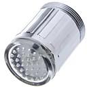 זול קישוט אורות-זוהר אור זוהר הוביל ברז מים מקלחת ברז מים פייה ראש אור אמבטיה אמבטיה ברזים