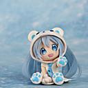 ราคาถูก โมเดลการ์ตูนแอคชั่น-ตัวเลขการกระทำอะนิเมะ แรงบันดาลใจจาก Vocaloid Hatsune Miku พีวีซี 7 cm CM ของเล่นรุ่น ของเล่นตุ๊กตา