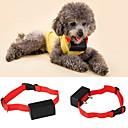 olcso Kutya képzés-Kutya Ugatásgátló nyakörv anti Bark Elektromos / Elektromos Rezgés Egyszínű Műanyag Piros