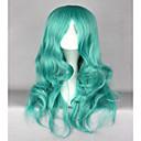 Χαμηλού Κόστους Προϊόντα φροντίδας σκύλων-Συνθετικές Περούκες Κυματιστό Κυματιστό Περούκα Μακρύ Πράσινο Συνθετικά μαλλιά Γυναικεία Πράσινο hairjoy