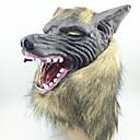 ราคาถูก สติกเกอร์ติดผนัง-หน้ากากฮาโลวีน หน้ากาก Latex ยาง หัวหน้าหมาป่า ธีมสยองขวัญ ผู้ใหญ่ เด็กผู้ชาย เด็กผู้หญิง
