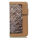 billiga Andra delar-fodral Till Apple iPhone 7 Plus / iPhone 7 / iPhone 6s Plus Plånbok / Korthållare Fodral Geometriska mönster Hårt PU läder
