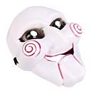 billige Halloweenutstyr-Haloween-masker Plast PVC Joker Horrortema Voksne Gutt Jente