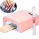 billiga Nageltorkare och lampa-UV-Lampor och Glödlampor 36 W För 110-220 V Nail Art Design Ledigt / vardag Dagligen Lätt att bära / Bekväm
