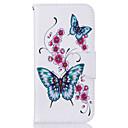 ราคาถูก ผ้าคลุมโซฟา-Case สำหรับ Samsung Galaxy S7 edge / S7 / S6 edge Wallet / Card Holder / with Stand ตัวกระเป๋าเต็ม Butterfly Hard หนัง PU