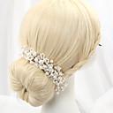 billiga Huvudsmycken till fest-Oäkta pärla / Legering pannband med 1 Bröllop Hårbonad