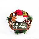ราคาถูก ของเล่นวันคริสต์มาส-Santa Suits มนุษย์หิมะ ตกแต่งวันคริสมาสต์ พวงหรีดสำหรับวันคริสต์มาส น่ารัก Cartoon คุณภาพสูง แฟชั่น สิ่งทอ เด็กผู้ชาย เด็กผู้หญิง Toy ของขวัญ