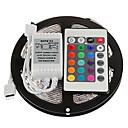 Χαμηλού Κόστους Σετ εργαλείων-zdm 5m 300 x 2835 8mm rgb Led ταινίες ελαφρύ εύκαμπτο και ir 24key απομακρυσμένο έλεγχο συνδέσιμο αυτοκόλλητο χρώμα αλλαγή
