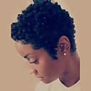 Χαμηλού Κόστους Πλεξούδες μαλλιών-Ανθρώπινη Τρίχα Περούκα Κοντό Κυματιστό Φυσικό Κυματιστό Κούρεμα νεράιδας Σύντομα Hairstyles 2019 Με αφέλειες Berry Φυσικό Κυματιστό Κυματιστό Περούκα αφροαμερικανικό στυλ Για μαύρες γυναίκες