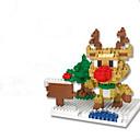 ราคาถูก บล็อกอาคาร-Building Blocks บล็อกทางทหาร ตกแต่งวันคริสมาสต์ ของเล่นคริสมาสต์ ของเล่นชุดก่อสร้าง ของเล่นการศึกษา 1 pcs Elk ทหาร แปลกใหม่ เด็กผู้ชาย เด็กผู้หญิง Toy ของขวัญ