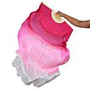 ราคาถูก เครื่องประดับประกอบการเต้นรำ-ชุดเต้นระบำหน้าท้อง อุปกรณ์แต่งเวที สำหรับผู้หญิง Performance ไหม จับจีบ ไม้กายสิทธิ์