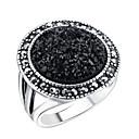baratos Anéis-Mulheres Anel anel de polegar Zircônia cúbica Preto Liga Boêmio Casamento Noivado Jóias