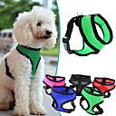 billiga Hundkläder-Hund Selar Andningsfunktion Justerbara / Infällbar Enfärgad Nät Nylon Svart Purpur Grön