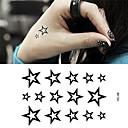 billige Vinstoppere-Tegneserie / Tattoo-klistremerke hender / arm / håndledd midlertidige Tatoveringer 1 pcs Dyre Serier Svart kropps~~POS=TRUNC