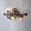 Χαμηλού Κόστους Απλίκες Τοίχου-AC 100-240 180W E26/E27 Ρουστίκ/Αγροτικό / Retro / Πεπαλαιωμένο Ζωγραφιά Χαρακτηριστικό for Mini Style,Ατμοσφαιρικό Φως Απλίκες Τοίχου