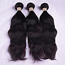 Χαμηλού Κόστους Περούκες από Ανθρώπινη Τρίχα-3 δεσμίδες Μαλαισιανή Κυματιστό Φυσικό Κυματιστό Φυσικά μαλλιά Υφάνσεις ανθρώπινα μαλλιών Υφάνσεις ανθρώπινα μαλλιών Επεκτάσεις ανθρώπινα μαλλιών / 8A