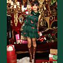 ราคาถูก ชุดรูปแบบภาพยนตร์และทีวี-Santa Suits / ชุดฟอร์ม คอสเพลย์และคอสตูม ชุดฟอร์ม สำหรับผู้หญิง Terylene ชุดแฟนซี วันคริสต์มาส / เทศกาลคานาวาล / ปีใหม่ เครื่องแต่งกาย