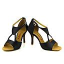 ราคาถูก รองเท้าแบบลาติน-สำหรับผู้หญิง รองเท้าเต้นรำ ซาติน ลาติน / Salsa หัวเข็มขัด / ผูกริบบิ้น รองเท้าแตะ / ส้น ส้นแบบกำหนดเอง ตัดเฉพาะได้ บรอนซ์ / Almond / Nude / Performance / หนังสัตว์ / มืออาชีพ / EU38