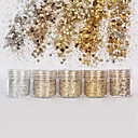 Χαμηλού Κόστους Στρας&Διακοσμητικά-1 pcs Glitter & Poudre / Πούλιες Glitters / Κλασσικό Καθημερινά