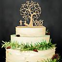 ราคาถูก ของประดับตกแต่งงานแต่งงาน-เครื่องประดับเค้ก ไม้ เครื่องประดับจัดงานแต่งงาน งานแต่งงาน / ปาร์ตี้ ธีมคลาสสิก ฤดูใบไม้ผลิ / ฤดูร้อน / ตก