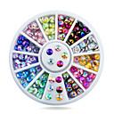 billiga nagellacksbort-1 pcs Paljetter nagel konst manikyr Pedikyr Dagligen Glitters / Mode