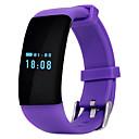 baratos Smartwatches-Pulseira inteligente para iOS / Android Monitor de Batimento Cardíaco / satélite / Chamadas com Mão Livre / Áudio / Controle de Mensagens Temporizador / Cronómetro / Monitor de Atividade / Monitor de