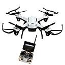 Χαμηλού Κόστους Τ/Κ Quadcopters & Με Πολλαπλούς Έλικες-RC Ρομποτάκι JJRC H32GH 4 Kανάλια 6 άξονα 5.8G Με κάμερα HD 2.0MP Ελικόπτερο RC με τέσσερις έλικες Φώτα LED / Επιστροφή με ένα kουμπί / Auto-Απογείωση Ελικόπτερο RC με T / Λειτουργία άμεσου ελέγχου