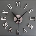 povoljno Zidni satovi-Suvremena suvremena Retro Opeka Reciklirani papir Metal Krug Unutarnji / vanjski