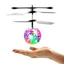 Χαμηλού Κόστους Παιχνίδια αστρονομίας και μοντέλα-Mini Μαγική πτήση μπάλα Ιπτάμενο γκάτζετ Αεροσκάφος Ελικόπτερο Λάμπει στο σκοτάδι LED με Αισθητήρα Υπέρυθρων Πλαστική ύλη Παιδικά Ενηλίκων Γιούνισεξ Αγορίστικα Κοριτσίστικα Παιχνίδια Δώρο
