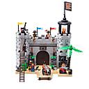 baratos Blocos de Montar-Blocos de Construir Conjunto de construção de brinquedos Brinquedo Educativo Pirata compatível Legoing Novidades Para Meninos Para Meninas Brinquedos Dom