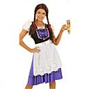 baratos Bolsas Tote-Dia Das Bruxas Oktoberfest Dirndl Trachtenkleider Mulheres Vestido Bávaro Ocasiões Especiais