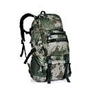 ราคาถูก กระเป๋านักล่า-40 L แบ็คแพ็ค การเดินทาง Duffel มัลติฟังก์ชั่ กลางแจ้ง แคมป์ปิ้ง & การปีนเขา การเดินทาง Terylene สีกากี เทาเข้ม พรางสีเขียว