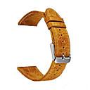 ราคาถูก ของประดับตกแต่งงานแต่งงาน-สายนาฬิกา สำหรับ Gear S3 Frontier / Gear S3 Classic Samsung Galaxy สายยางสำหรับเส้นกีฬา หนัง สายห้อยข้อมือ