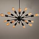 baratos Estilo Vela-Ecolight™ Sputnik Lustres Luz Ambiente Acabamentos Pintados Metal Designers 110-120V / 220-240V Lâmpada Não Incluída / E26 / E27