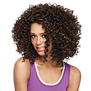 Χαμηλού Κόστους Κάμερα Οπισθοπορείας Αυτοκινήτου-Συνθετικές Περούκες Afro Άφρο Κούρεμα καρέ Περούκα Μεσαίο Μπεζ Συνθετικά μαλλιά Γυναικεία Καφέ