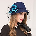 povoljno Party pokrivala za glavu-vuna net fascinators kape headpiece klasični ženski stil