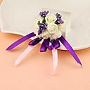 """Χαμηλού Κόστους Λουλούδια Γάμου-Λουλούδια Γάμου Κορσάζ Καρπού / Μοναδική γαμήλια διακόσμηση Ειδική Περίσταση / Πάρτι / Βράδυ Σατέν 1,18 """" (περ.3εκ)"""