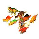 ราคาถูก ฟิกเกอร์ไดโนเสาร์-Pretend Play Dinosaur พลาสติก 10 pcs Toy ของขวัญ