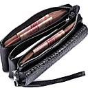 ราคาถูก กระเป๋า Totes-สำหรับผู้หญิง หนังวัว กระเป๋าเงิน / ซิบเปอร์ สีพื้น แดง / สีเขียว / สีฟ้า