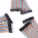 billige Koblinger & terminaler-universell hann til hann / hann til hunn / hunn til kvinnelige DuPont kabler satt for Arduino