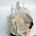 cheap Party Headpieces-Tulle / Feather Fascinators with 1 Wedding / Special Occasion Headpiece