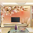 ราคาถูก ภาพจิตรกรรมฝาผนัง-อาร์ต เดคโค 3D ของตกแต่งบ้าน ร่วมสมัย ครอบคลุมผนัง, ผ้าใบ วัสดุ กาวที่จำเป็น ภาพจิตรกรรมฝาผนัง, Wallcovering ห้อง